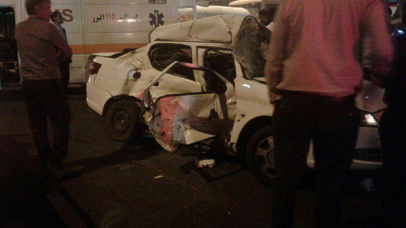 دو  کشته در سانحه رانندگی بامداد امروز در ماهدشت