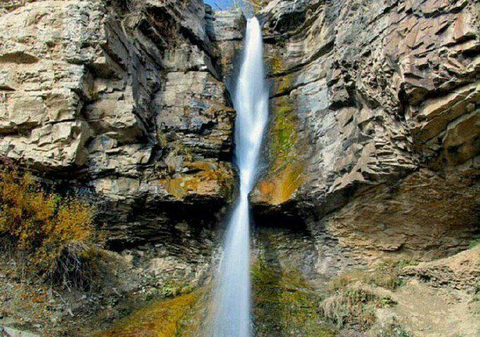 ساوجبلاغ، آبشارسنج