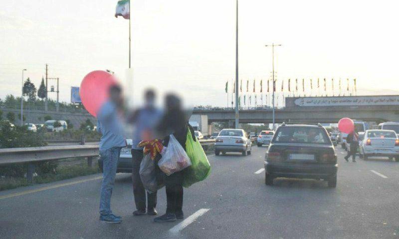 جمع آوری ️متکدیان آزادراه تهران/ کرج/قزوین
