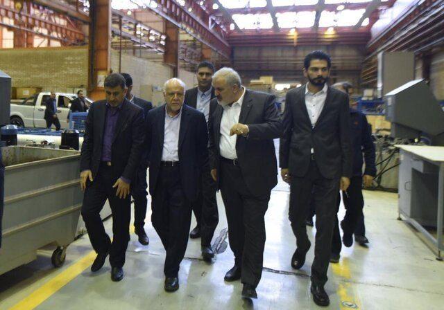 ️بازدید وزیر نفت از شرکتهای گروه صنعتی مپنا