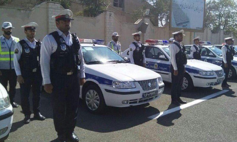دوربین البسه پلیس در استان البرز رونمایی شد