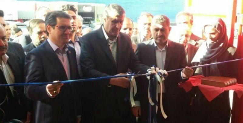 ️افتتاح بزرگترین خط تولید کانتینر دریایی ایران در البرز