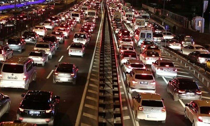 ️تردد ساعتی ۱۷۰۰ خودرو از محورهای البرز