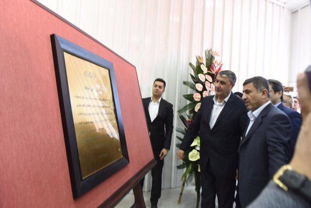افتتاح بزرگترین و استانداردترین خط تولید کانتینر دریایی ایران در البرز