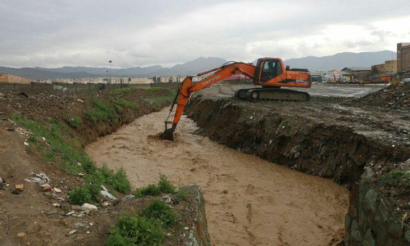 ️بستر نهر دلمبر کرج از تصرفات پاکسازی میشود