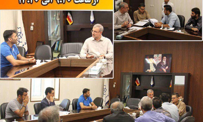 دیدار مردمی شهردار محمدشهر با شهروندان
