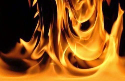 شعله های آتش جان یک محمدشهری را گرفت