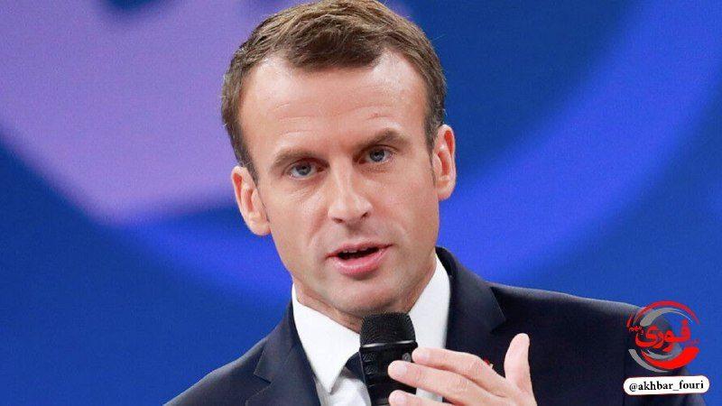 ماکرون رئیس جمهور فرانسه