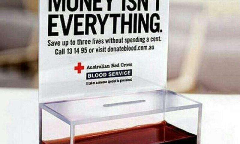 تبلیغ جالب صلیب سرخ استرالیا