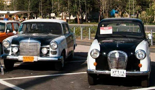 تصویری از اولین تاکسی های ایران