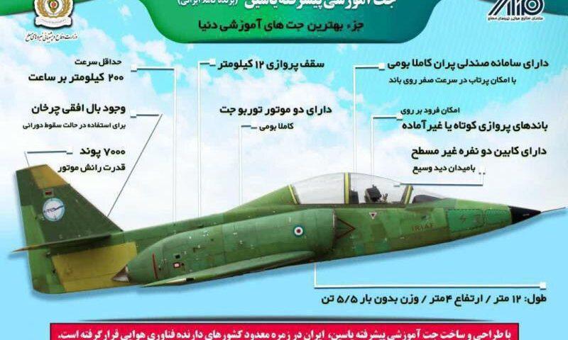 مشخصات جت ایرانی «یاسین»