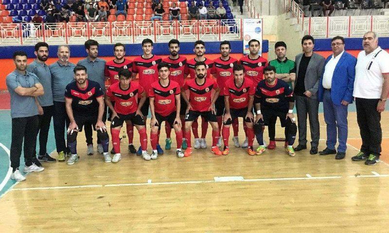 تیم فوتسال کراپ الوند ایرانیان
