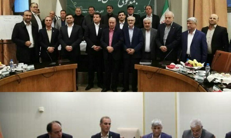 حسین باجیوند، عضو هیات رئیسه