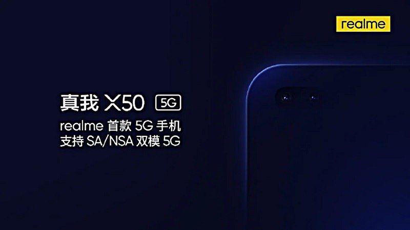 مشخصات گوشی ریلمی X50 5G فا
