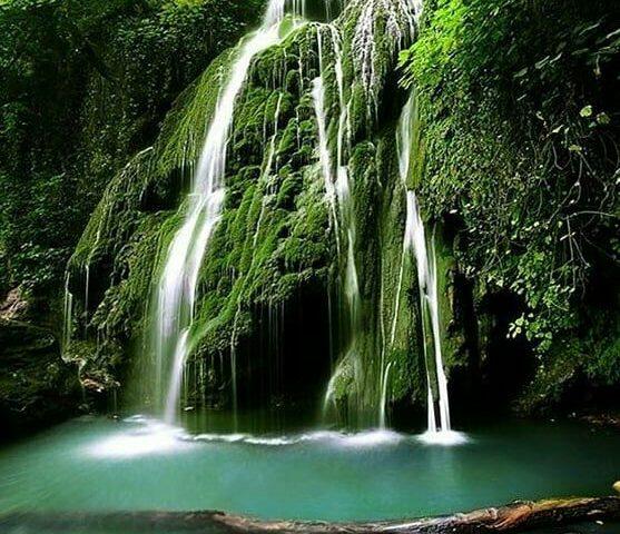 آبشار کبودوال . تمیزترین آبشا