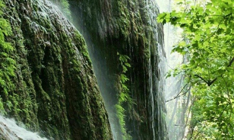 استان گلستان . گالیکش آبشار