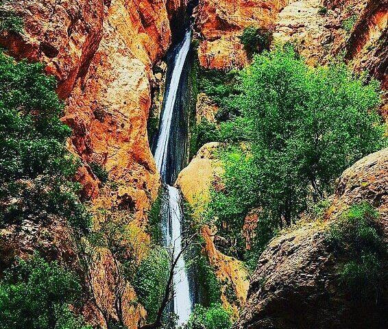 آبشار پیران کرمانشاه یکی از
