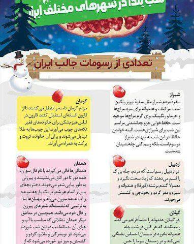 تعدادی از رسومات جالب ایرانیان