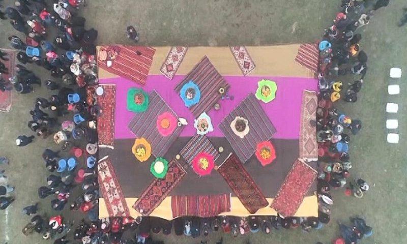 تصویر هوایی از بزرگترین کرسی ا