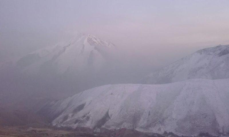 آلودگی هوا به بخش آسارا هم رسی