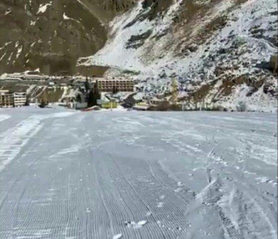 پیست اسکی دیزین ۳۰ آذر ۹۸