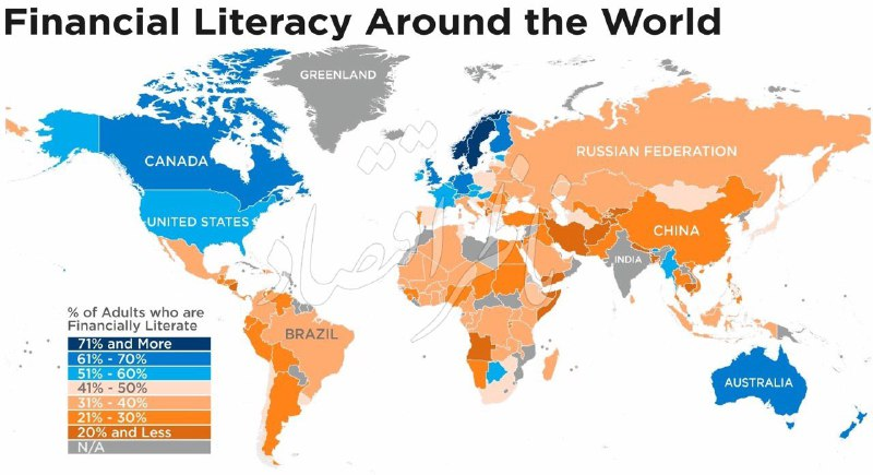 ️ وضعیت کشورهای جهان از لحاظ