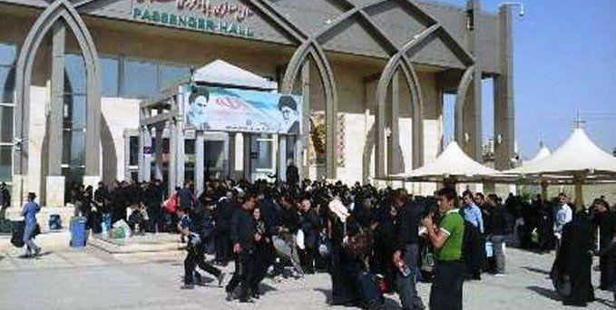 مرز مهران همچنان برای تردد م
