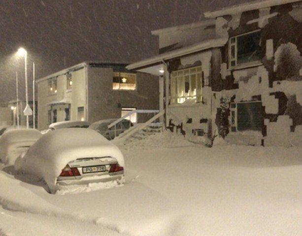 ️بارش سنگین برف و کولاک در
