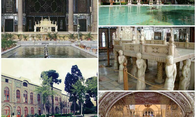 تهران قدمت کاخ گلستان به زمان