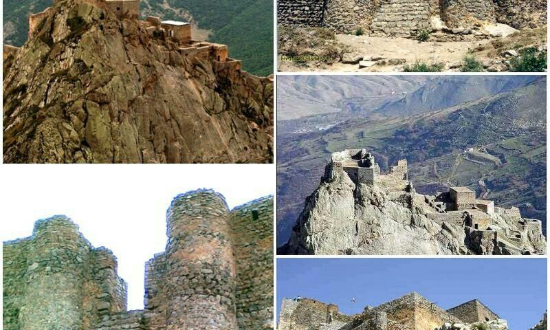 اهر قلعه بابک که به نامهای ق