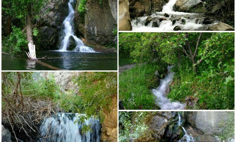 باغرود نیشابور آبشار گرینه در