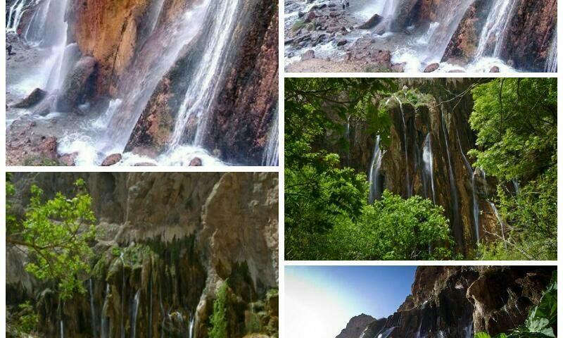 فارس سپیدان مارگون نام آبشاری