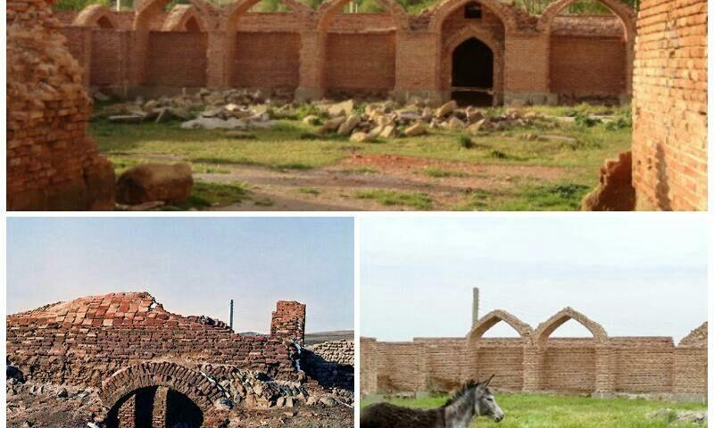 مشکین شهر کاروانسراهای شاه عب
