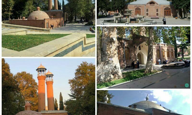 کشور آذربایجان گنجه مسجد شاه