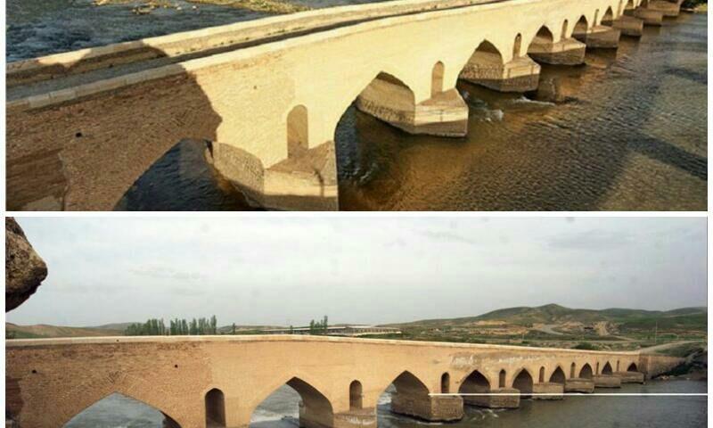 کردستان   بیجار پل صلوات آباد