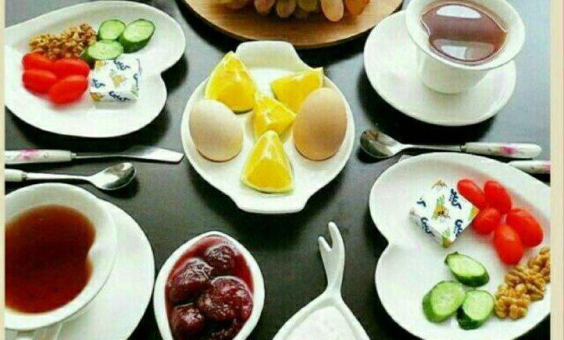 وعده ی صبحانه  بهترین زمانِ د