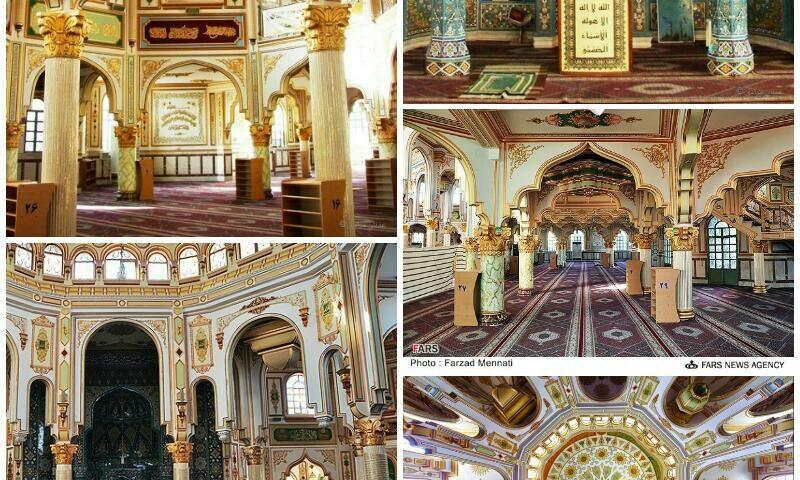 کرمانشاه مسجد جامع شافعی
