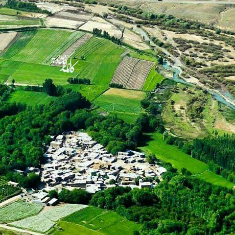 تنها روستایی که به شکل قلب در
