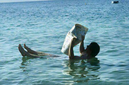 دریایی که هیچ گاه در آن غرق