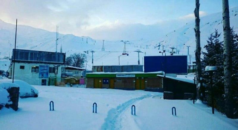 پهناورترین پیست اسکی ایران از