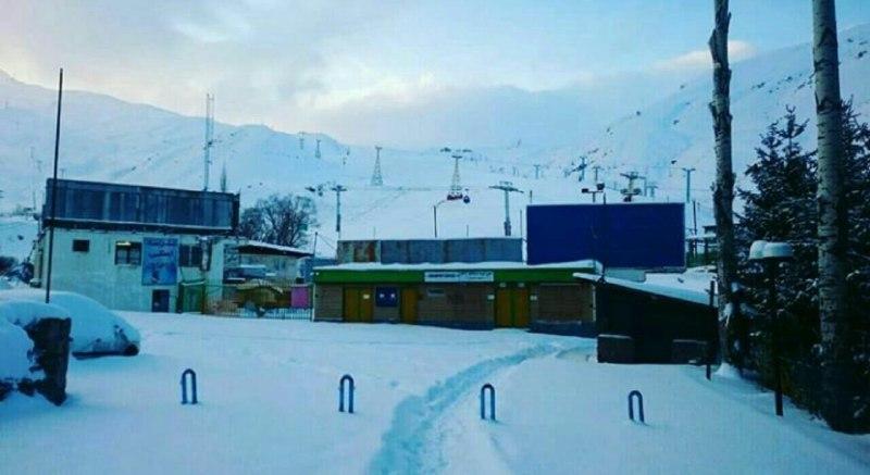 پیست اسکی دیزین از روز یکشنبه