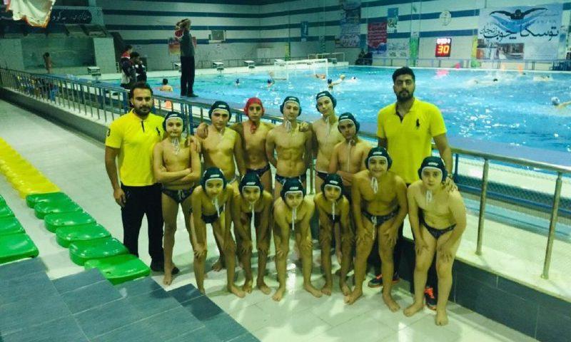 تیم دلفین البرز در مرحله دوم ل