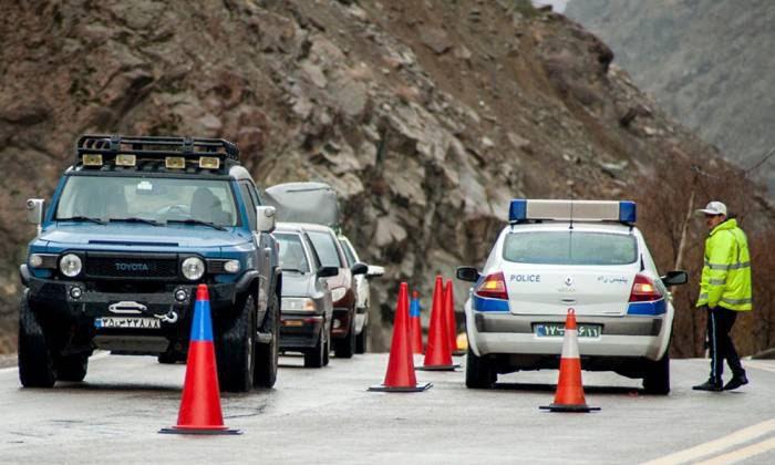 اعمال محدودیت تردد در جاده کر