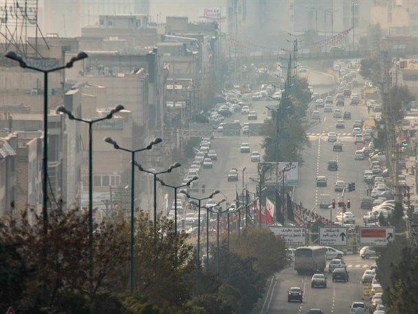 آلودگی هوای البرز به مرز هشدا