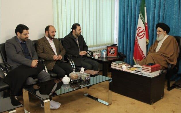 دیدار منتخب البرز در مجلس یازدهم با نماینده ولی فقیه در استان