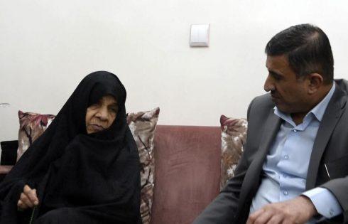استاندار البرز درگذشت مادر شهیدان فهمیده را تسلیت گفت