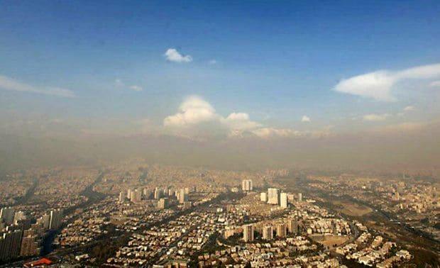 پیش بینی افزایش آلاینده ها و بارش های خفیف برای البرز