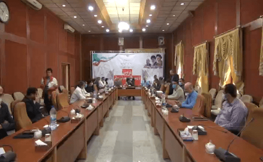 مانور دور میزی کارگروه امداد و نجات در شهرستان البرز